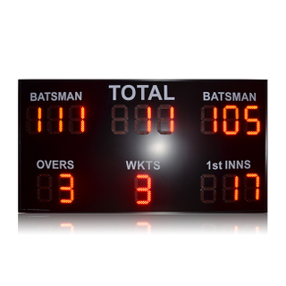 New design live cricket score update led display screen for sale stadium score display led score screen