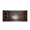 "Outdoor Waterproof Large Red 24 "" 8.888 Led Gas Price Sign"