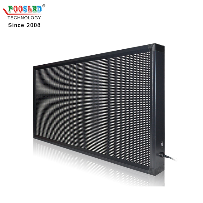 Nice Indoor P7.62 Full Color Led Running Message Display