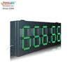 Good Quality Ip53 High Brightness 10 Inch Green 888.88 Gas Station Led Display
