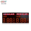 Hot Sale Outdoor IP53 REGULAR 12 Inch Red 8.88 9/10 Led Gas Price Sign