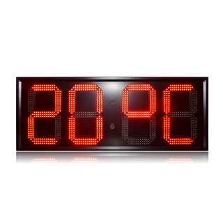 Hot Sale 15 Inch 88:88 High Brightness Red GPS Led Digital Wall Clock