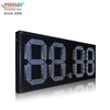 Hot Sale Mexico 18 Inch White 88.88 Remote Control Led Gas Price Sign