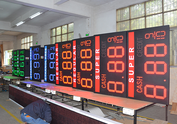 advertising led display price