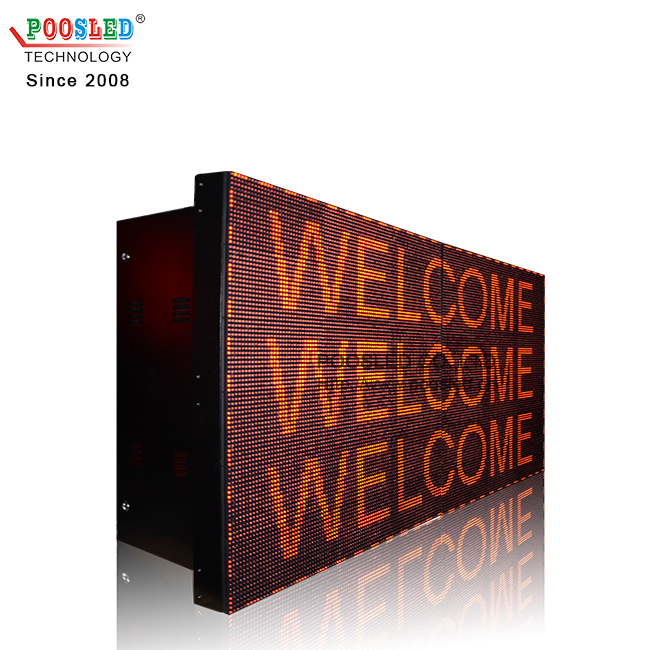 Outdoor Waterproof P10 Red 6x6 Led Display