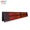 Hot Sale IP65 Waterproof P10 9x3 Red Led Message Board
