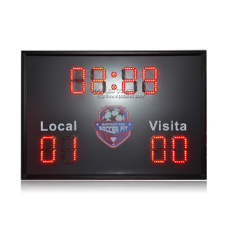 New Arrival Portable 6 Inch Red Led Football Scoreboard
