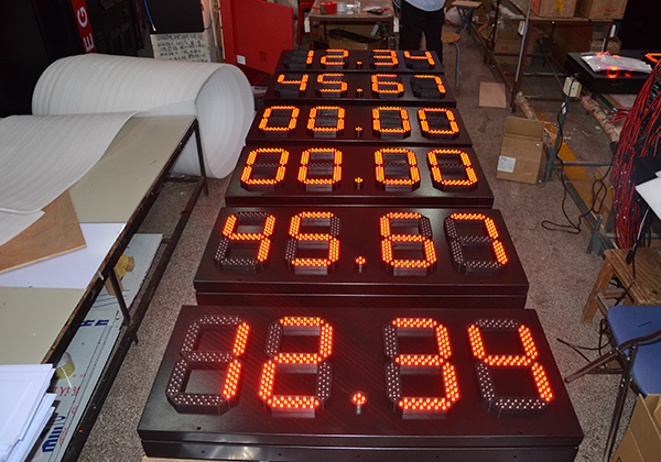 led gas price sign with UL
