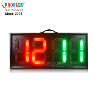 Good Quality Portable LED Display Soccer Substitution Board