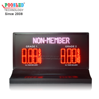 Factory Directly Provide American 8.88 9/10 Led Pump Top Sign