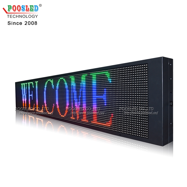 IP53 Waterproof Outdoor P10 RGB(SMD) Full Color Led Display