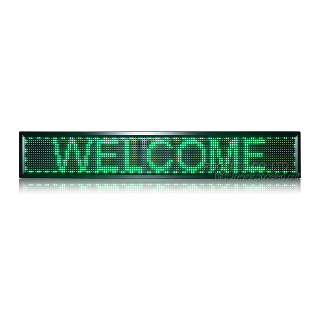 P10 Green Text Led Module LED Scrolling Sign Wifi & USB Control