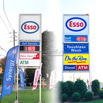 Canada Led Gas Price Changer